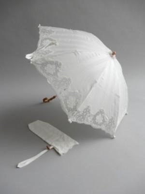 さえら【ヒスクローネ】の上品な折り畳み日傘
