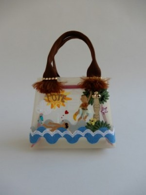 さえら【ポテチーノ】の夏いっぱいの可愛いバッグ